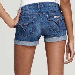 Hudson Hampton Denim Cuffed Jean Shorts